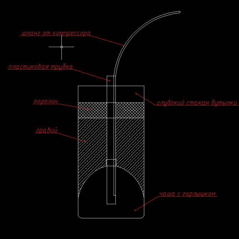 схема биофильтра для аквариума своими руками