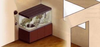 Установка аквариума после покупки или изготовления